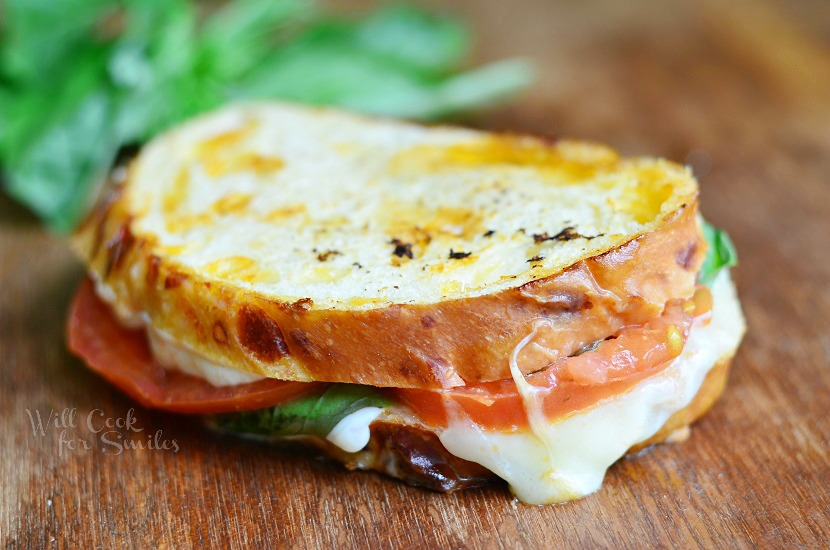 Caprese Grilled Cheese - Springer's Kitchen